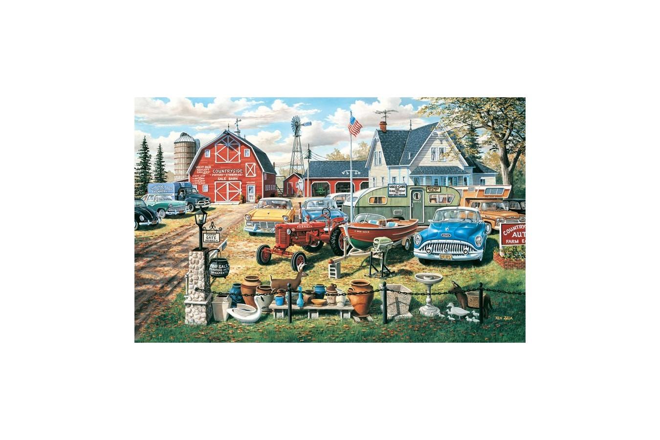 Puzzle SunsOut - Ken Zylla: A Bumper Crop, 550 piese (45069)