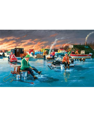 Puzzle SunsOut - Ken Zylla: Fishing Contest, 550 piese (64061)