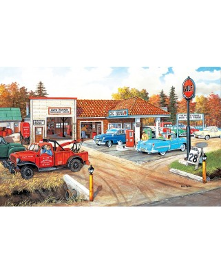 Puzzle SunsOut - Ken Zylla: Full Service, 550 piese (64077)