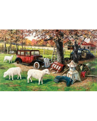Puzzle SunsOut - Ken Zylla: Out To Pasture, 550 piese (64058)