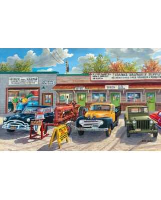 Puzzle SunsOut - Ken Zylla: The Old Rustic Inn, 1.000 piese (64071)