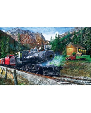Puzzle SunsOut - Kevin Daniel: The Leinad Express, 1.000 piese (64222)