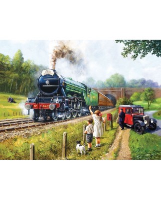 Puzzle SunsOut - Kevin Walsh: Watching the Trains, 1.000 piese (63894)