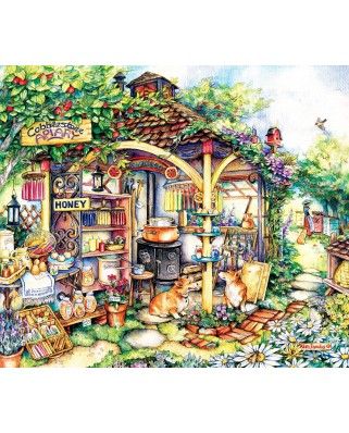 Puzzle SunsOut - Kim Jacobs: The Apiary, 550 piese (63932)
