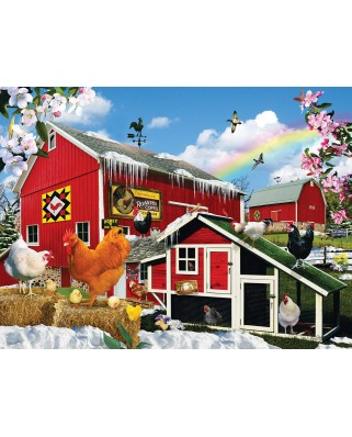 Puzzle SunsOut - Lori Schory: First Signs of Spring, 1.000 piese (64016)