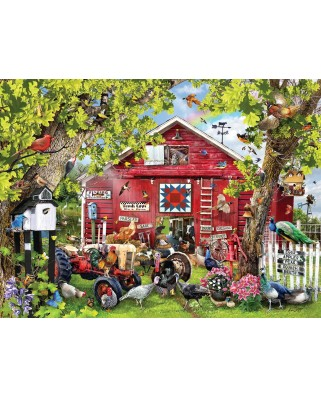 Puzzle SunsOut - Lori Schory: Pretty Boys, 1.000 piese (64022)