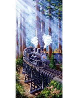 Puzzle SunsOut - Marc Desobeau: Redwood Sidewinder, 1.000 piese (64338)