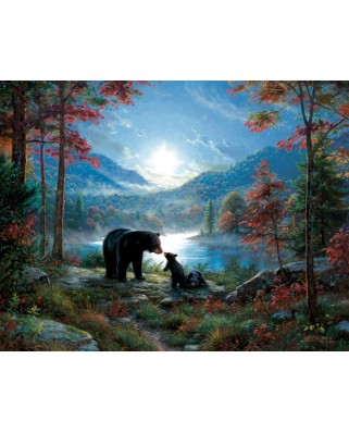 Puzzle SunsOut - Mark Keathley: Bedtime Kisses, 1.000 piese XXL (64194)
