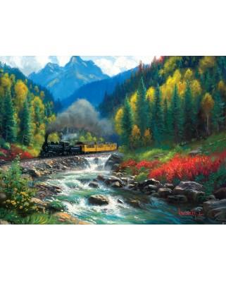 Puzzle SunsOut - Mark Keathley: Durango Silverton, 1.000 piese (64197)