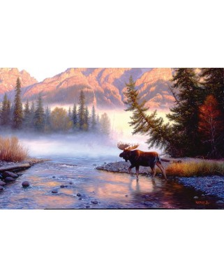 Puzzle SunsOut - Mark Keathley: Into the Mist, 1.000 piese (64205)