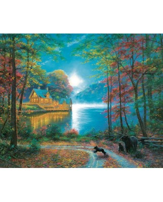 Puzzle SunsOut - Mark Keathley: Lakeside Dreams, 1.000 piese (64186)