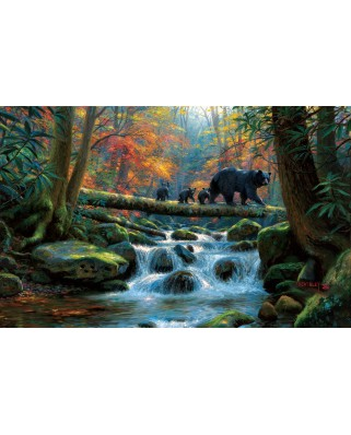 Puzzle SunsOut - Mark Keathley: Precarious Crossing, 1.000 piese (64206)