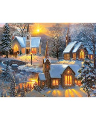 Puzzle SunsOut - Mark Keathley: Shining Lights, 1.000 piese (64192)