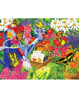 Puzzle SunsOut - Nancy Wernersbach: A Home for Butterflies, 1.000 piese XXL (64275)