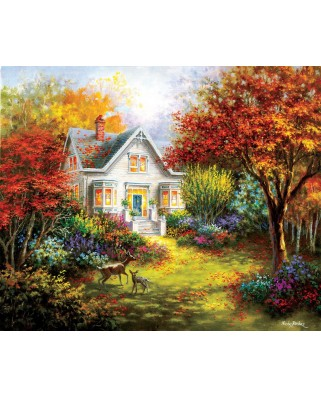 Puzzle SunsOut - Nicky Boehme: Autumn Overtures, 1.000 piese (63916)