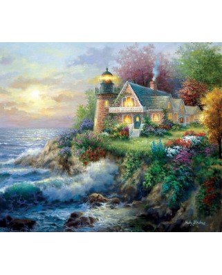 Puzzle SunsOut - Nicky Boehme: On Guard, 550 piese (63909)