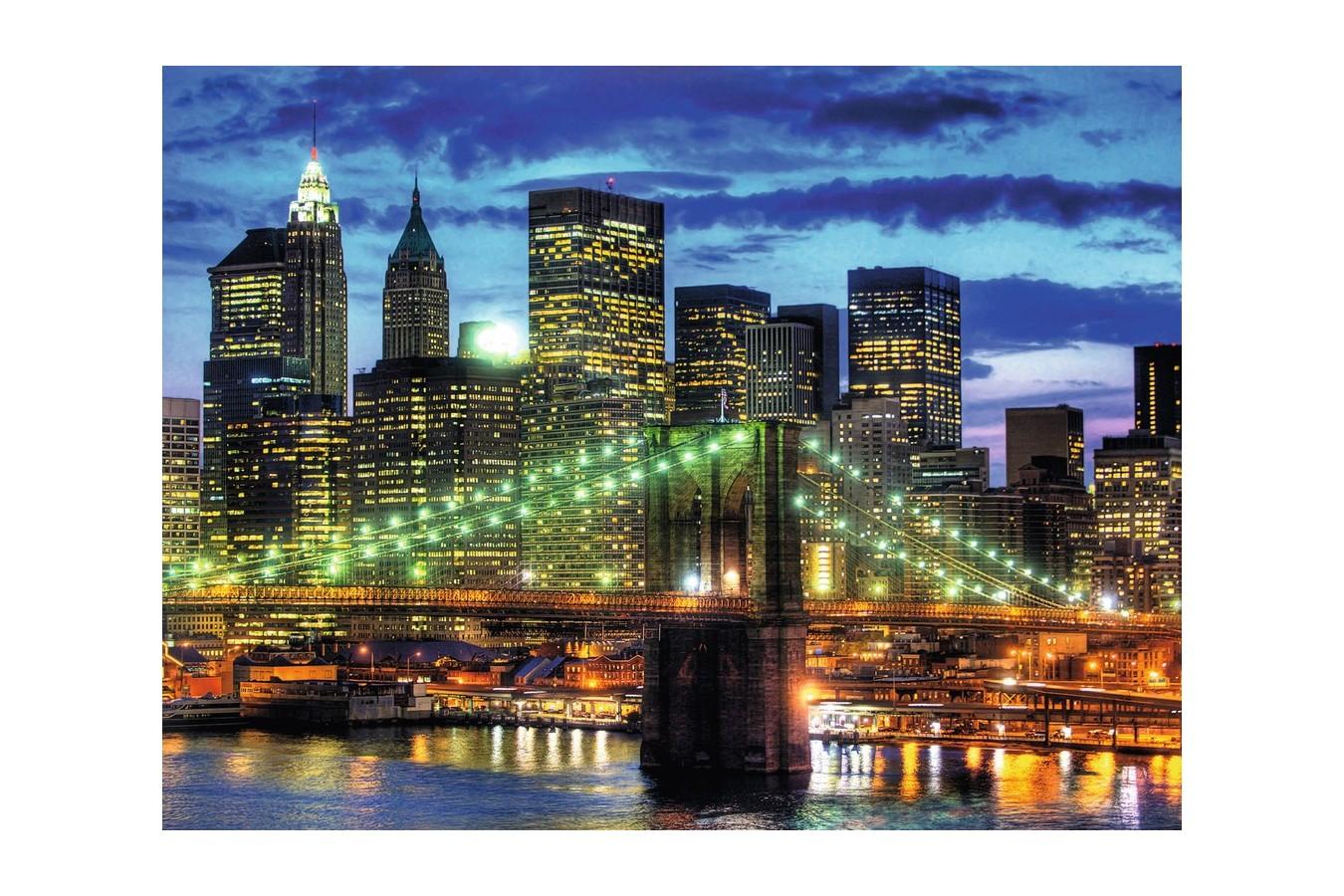 Puzzle Ravensburger - Orizontul Orasului New York, 1500 piese (16272)