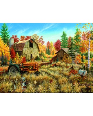 Puzzle SunsOut - Picturesque - Deer Valley, 1.000 piese (64176)