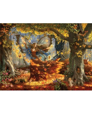 Puzzle SunsOut - Ruth Sanderson: Woodland Fairy, 1.500 piese (45461)