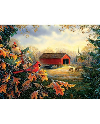 Puzzle SunsOut - Sam Timm: Red River Crossing, 1.000 piese (63978)