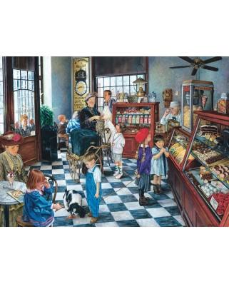 Puzzle SunsOut - Susan Brabeau: Confectionary Shop, 1000 piese (64101)