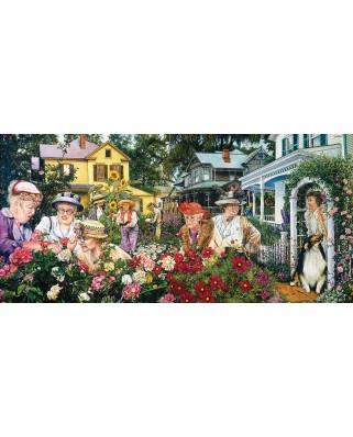 Puzzle SunsOut - Susan Brabeau: Ladies Garden Club, 1.000 piese (64107)