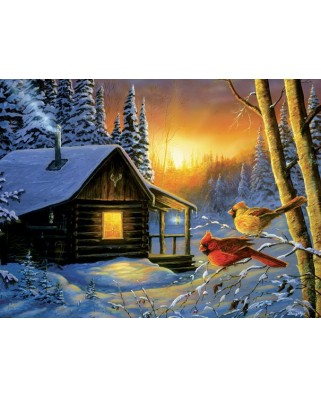 Puzzle SunsOut - Terry Doughty: Golden Frost, 1.000 piese (64348)