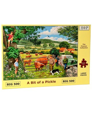 Puzzle The House of Puzzles - A Bit Of A Pickle, 500 piese XXL (60659)