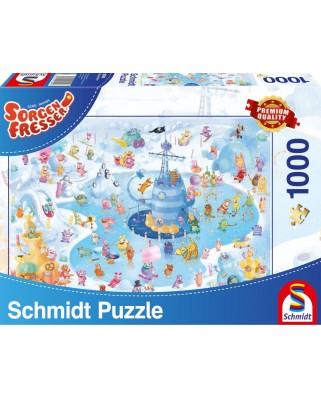 Puzzle Schmidt - Distractie de iarna, 1.000 piese (59371)