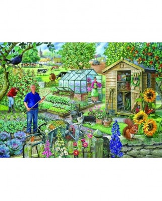 Puzzle The House of Puzzles - At The Allotment, 500 piese XXL (56791)