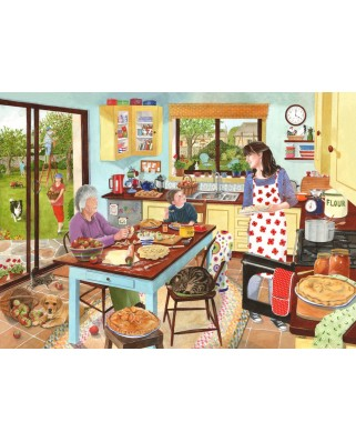 Puzzle The House of Puzzles - Baking Apple Pie, 1.000 piese (65176)