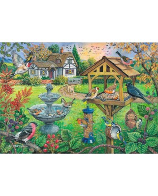 Puzzle The House of Puzzles - Bird Table, 500 piese XXL (60661)