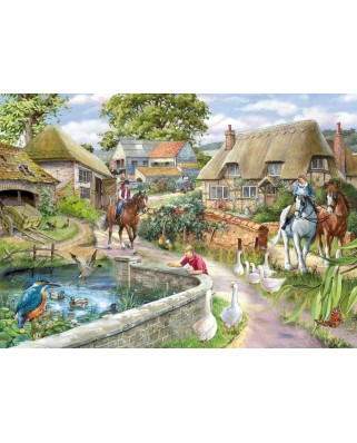 Puzzle The House of Puzzles - Bridle Path, 1.000 piese (56588)