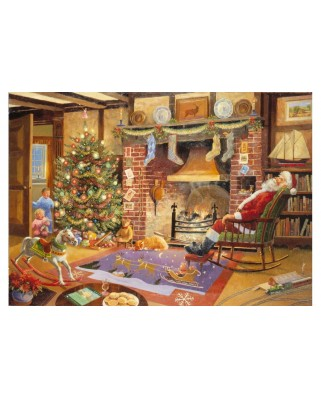 Puzzle The House of Puzzles - Christmas Collectors Edition No.1 - Caught Napping, 1.000 piese (56674)