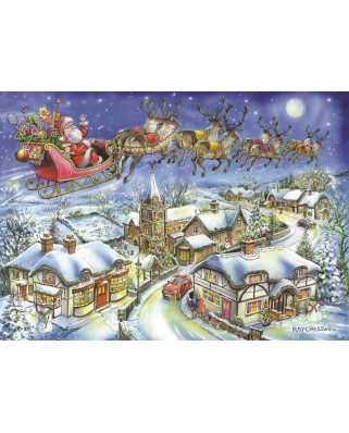 Puzzle The House of Puzzles - Christmas Collectors Edition No.13 - Christmas Eve, 500 piese (65278)