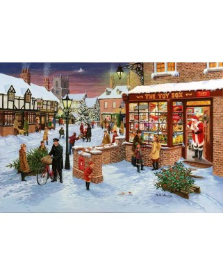 Puzzle The House of Puzzles - Christmas Collectors Edition No.3 - Secret Santa, 1.000 piese (65172)