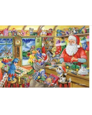 Puzzle The House of Puzzles - Christmas Collectors Edition No.5 - Santa's Workshop, 1.000 piese (56565)