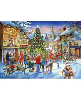 Puzzle The House of Puzzles - Christmas Collectors Edition No.6 - Christmas Shopping, 500 piese (56796)