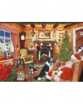 Puzzle The House of Puzzles - Christmas Collectors Edition No.7 - Me Too Santa, 1.000 piese (56852)