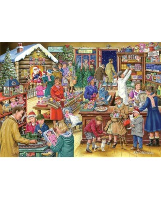 Puzzle The House of Puzzles - Christmas Collectors Edition No.9 - Christmas Treats, 1.000 piese (56658)