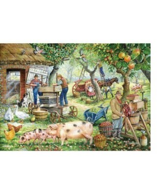 Puzzle The House of Puzzles - Cider Makers, 1.000 piese (56746)