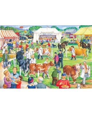 Puzzle The House of Puzzles - County Show, 500 piese XXL (56784)