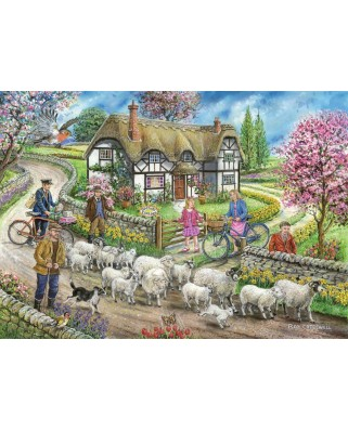 Puzzle The House of Puzzles - Daffodil Cottage, 1.000 piese (65179)