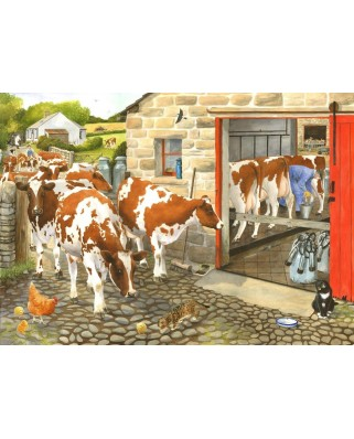 Puzzle The House of Puzzles - Dairy Maids, 1.000 piese (56669)