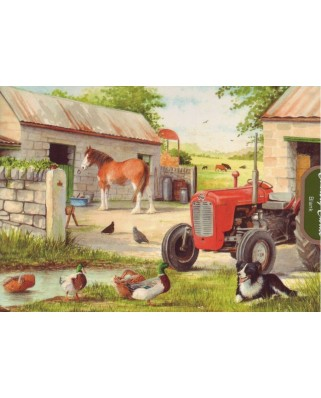 Puzzle The House of Puzzles - Dog & Duck, 250 piese XXL (56921)