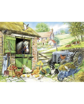 Puzzle The House of Puzzles - Down On The Farm, 250 piese XXL (56928)