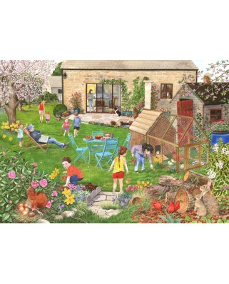 Puzzle The House of Puzzles - Egg Hunt, 500 piese (63244)
