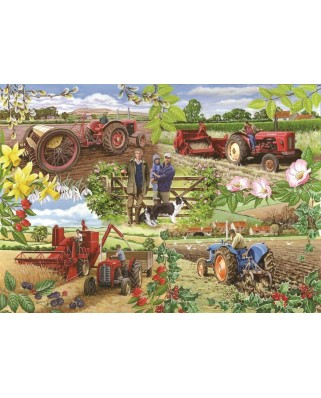 Puzzle The House of Puzzles - Farming Year, 1.000 piese (56585)