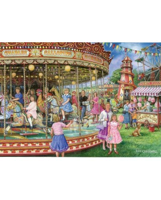 Puzzle The House of Puzzles - Gallopers, 1.000 piese (56655)