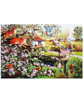 Puzzle The House of Puzzles - Garden Watch, 1.000 piese (56743)